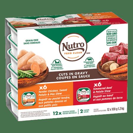 Nourriture humide pour chiens Multi-emballage