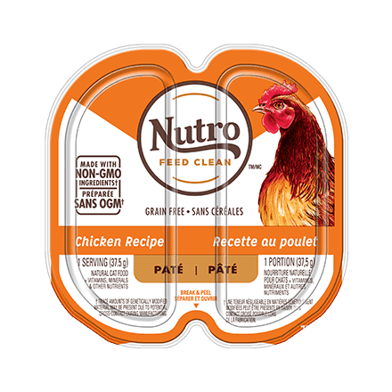 ADULT WET CAT FOOD PATÉ CHICKEN RECIPE