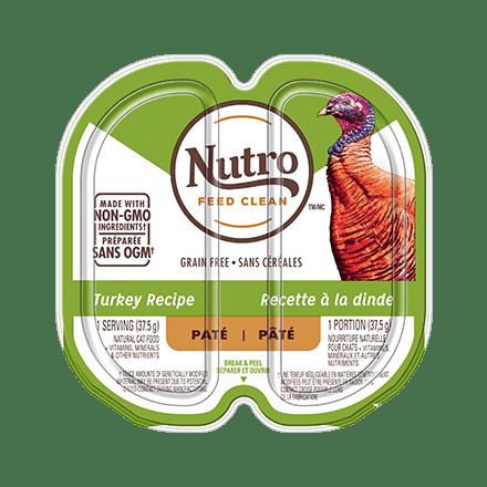 ADULT WET CAT FOOD PATÉ TURKEY RECIPE