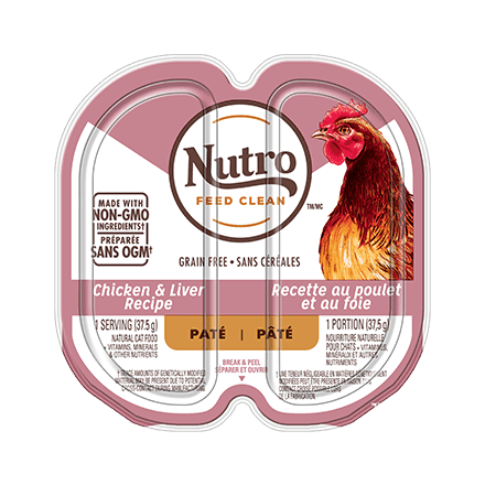 ADULT WET CAT FOOD PATÉ CHICKEN & LIVER RECIPE