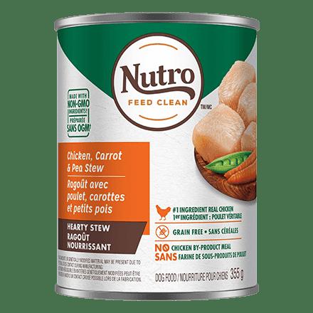 Adult Wet Dog Food Tender Chicken, Carrot & Pea Stew