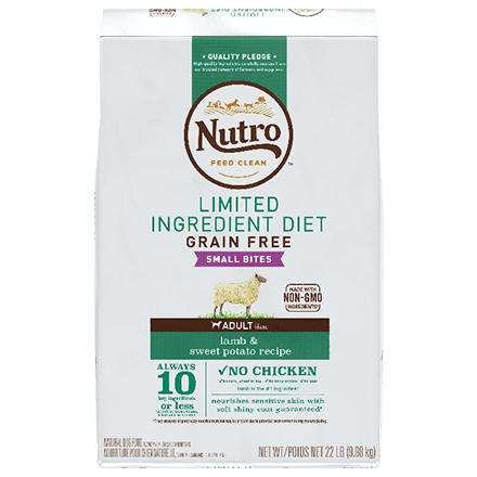 Grain Free Small Bites Adult Lamb & Sweet Potato Recipe