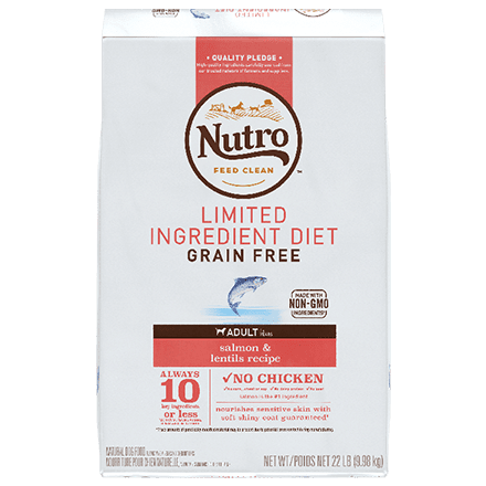 Grain Free Adult Salmon & Lentils Recipe