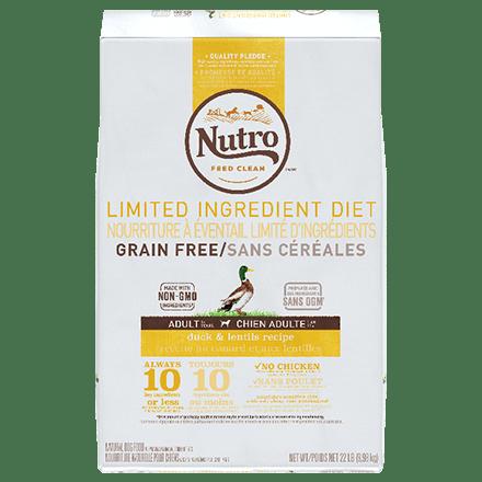 Grain Free Adult Duck & Lentils Recipe