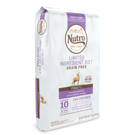 LIMITED INGREDIENT DIET DOG FOOD