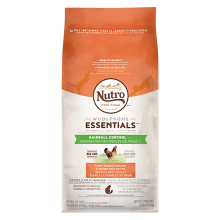 HAIRBALL CONTROL ADULT DRY CAT FOOD