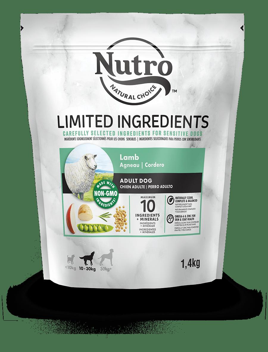 Alimento secco per cani adulti  con Agnello