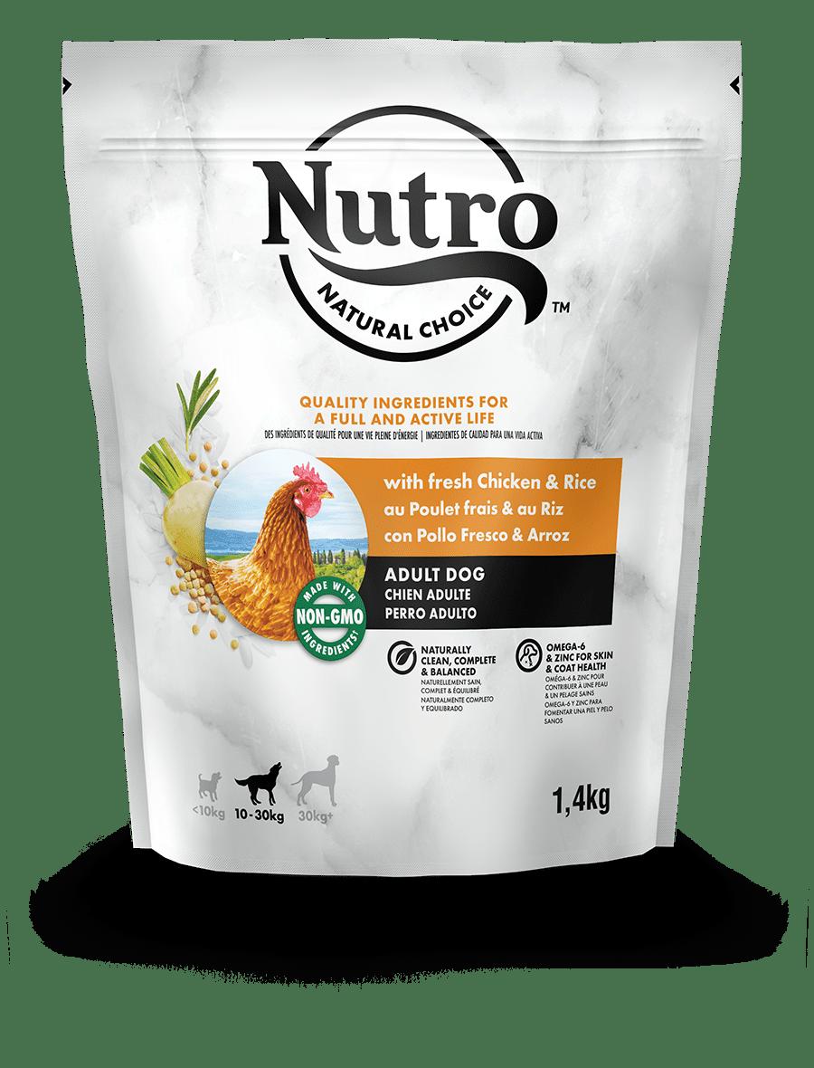 Alimento secco per cani adulti  con pollo fresco