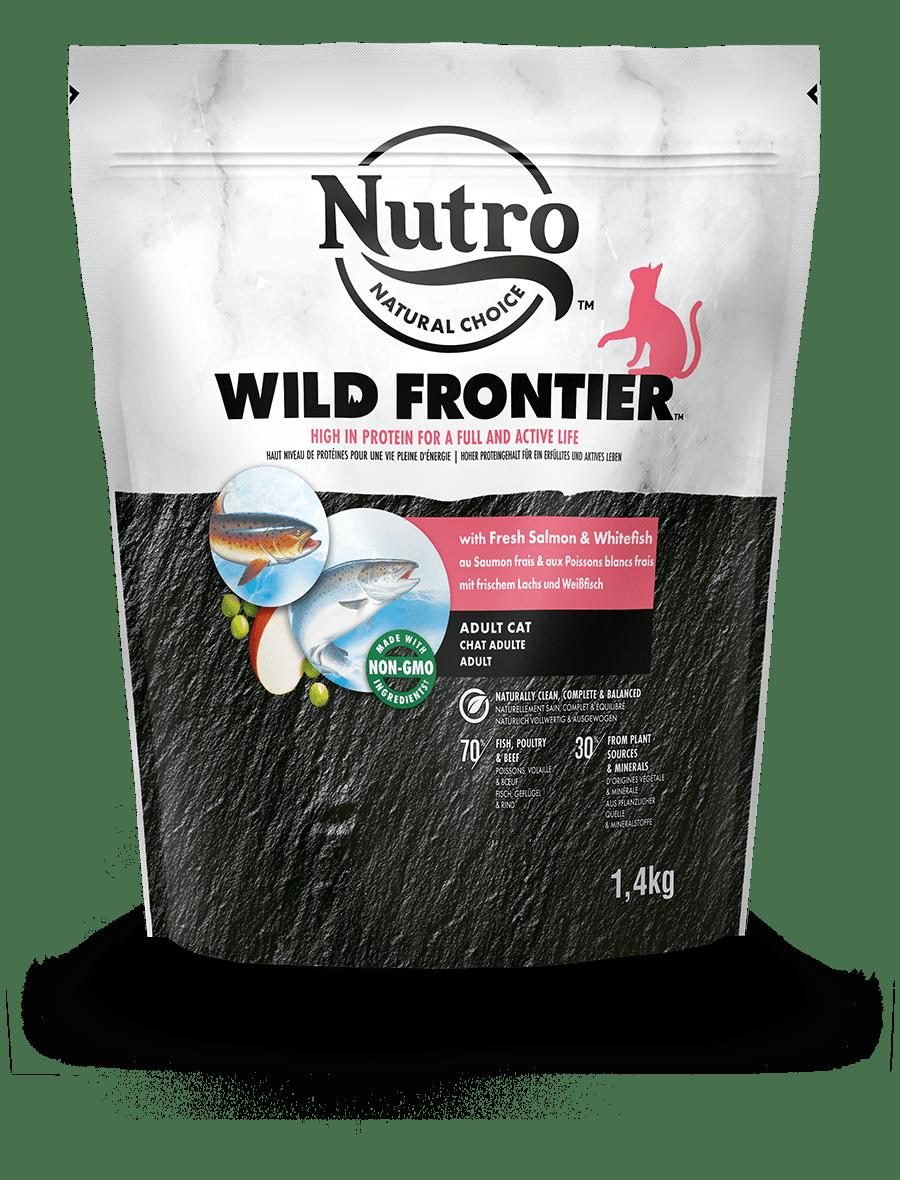 Alimento secco per gatti adulti  con Salmone & Pesce Bianco