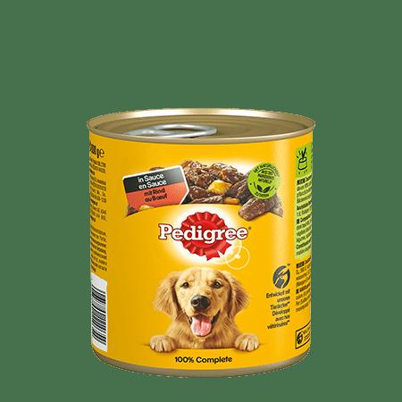 PEDIGREE® DOSE in Sauce mit Rind