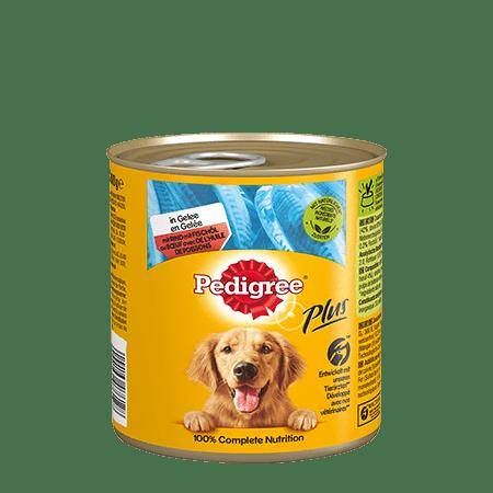 PEDIGREE Dose Adult in Gelee mit Rind und Fischöl