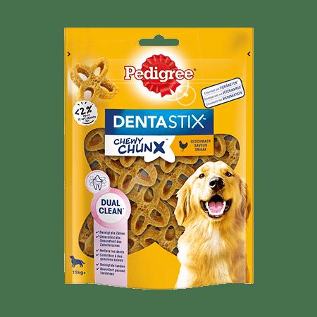 PEDIGREE® DENTASTIX™ Chewy Chunx™ Max 15kg+ mit Huhn 68g