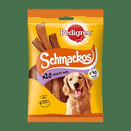PEDIGREE® Snacks Schmackos 4 Sorten 20St.