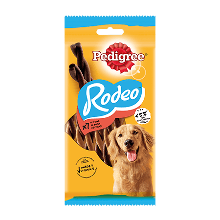 PEDIGREE® Snacks Rodeo 7 Stück