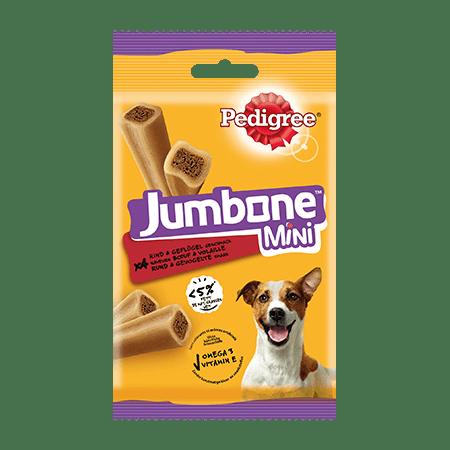 PEDIGREE® Snacks Jumbone Mini mit Rind & Geflügel 4Stück