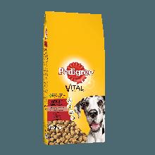 PEDIGREE® Πλήρης Ξηρή Τροφή για Μεγαλόσωμους Σκύλους Mοσχάρι & Ρύζι 15Kg