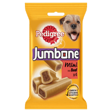 PEDIGREE® Jumbone Μini Μοσχάρι 4 Τεμάχια 180g