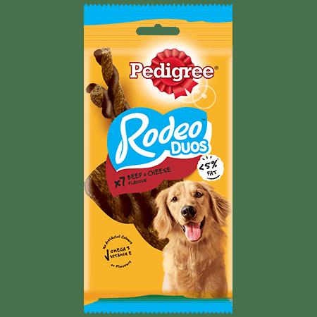 PEDIGREE® Rodeo Duos Μοσχάρι & Τυρί σε 7 Τεμάχια