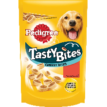 PEDIGREE® Tasty Bites Cheesy Bites με Τυρί & Μοσχάρι 140g