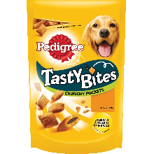 PEDIGREE® Tasty Bites Crunchy Pockets με Κοτόπουλο 95g
