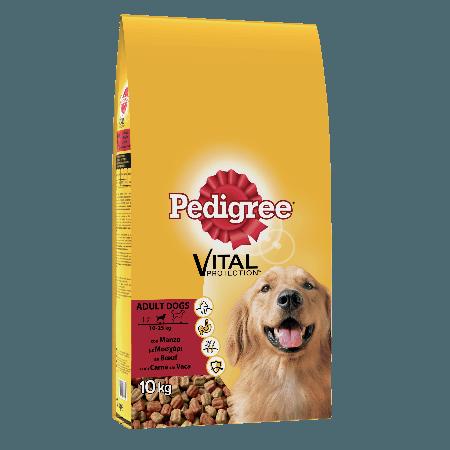 PEDIGREE® Πλήρης Ξηρή Τροφή Μοσχάρι & Λαχανικά 10kg