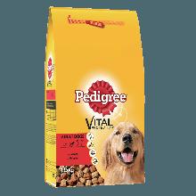 PEDIGREE® Πλήρης Ξηρή Τροφή Μοσχάρι & Λαχανικά 1.5kg