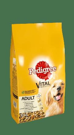 PEDIGREE® VITAL PROTECTION™ Adult met Kip en Groenten 10 kg