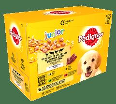 PEDIGREE® Maaltijdzakjes Junior in Gelei