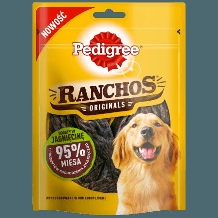 PEDIGREE® RANCHOS Originals Bogaty w Jagnięcinę 70 g