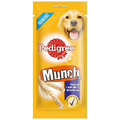 PEDIGREE® Munch Przysmak z rozdrobnioną skórą wołową 48 g