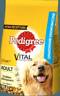PEDIGREE® Vital Protection™  z Drobiem i Warzywami dla dorosłych psów. 10kg