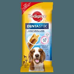 PEDIGREE® DentaStix<sup>TM</sup> Codzienna Pielęgnacja Jamy Ustnej, średnie rasy 7x