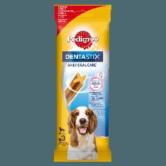 PEDIGREE® DentaStix Codzienna Pielęgnacja Jamy Ustnej, średnie rasy