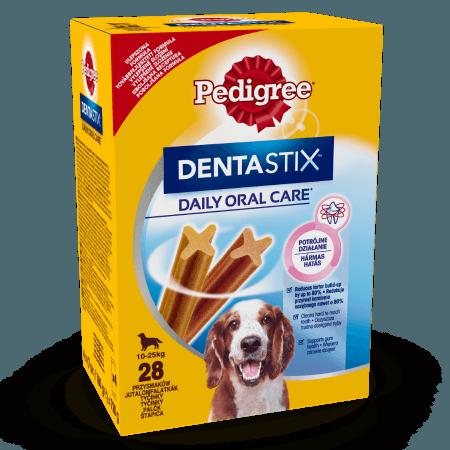PEDIGREE® DentaStix Codzienna Pielęgnacja Jamy Ustnej, średnie rasy 28x