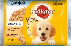 PEDIGREE® Vital Protection Junior z Kurczakiem i Ryżem, z Wołowiną i Ryżem w Galaretce, dla szczeniąt