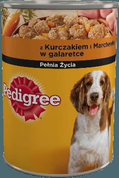 PEDIGREE® z Kurczakiem i Marchewką w galaretce, dla dorosłych psów