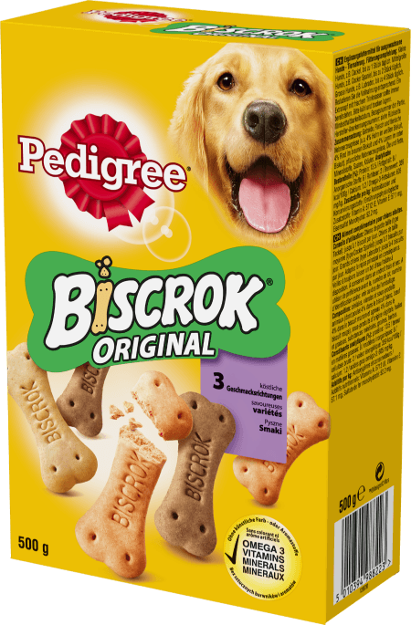 PEDIGREE® Biscrock Original 500g
