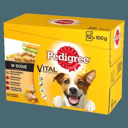 PEDIGREE® Vital Protection w Sosie 12x100g