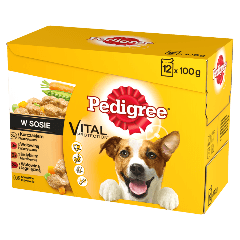 PEDIGREE® Vital Protection w Sosie 12x100g