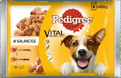 PEDIGREE® Vital Protection z Wołowiną, z Drobiem w Galaretce dla dorosłych psów