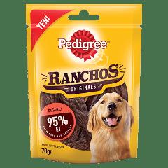 PEDIGREE<sup>&#174;</sup> Ranchos™ Sığır Etli Ödül Maması 70 G