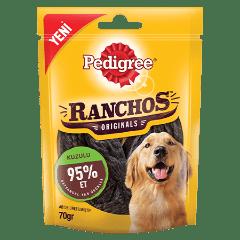 PEDIGREE<sup>&#174;</sup> Ranchos™ Kuzu Etli Ödül Maması 70 G