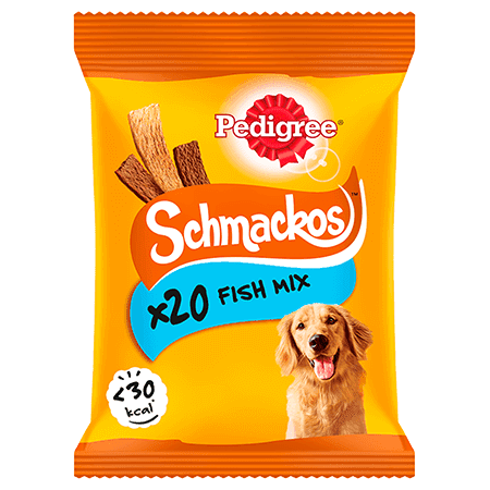 PEDIGREE® Schmackos Fish Mix 144g