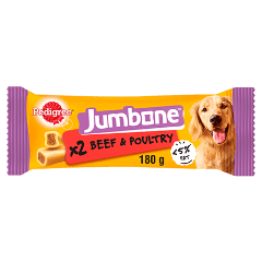 PEDIGREE® Jumbone Beef and Poultry Medium 180g