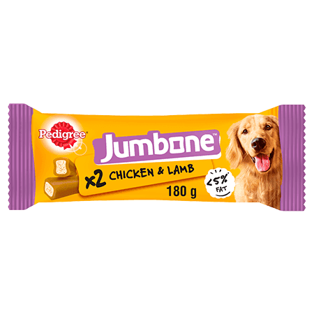 PEDIGREE® Jumbone Chicken and lamb Medium 180g