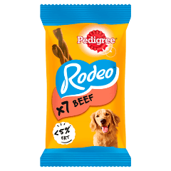 PEDIGREE® Rodeo Beef 123g