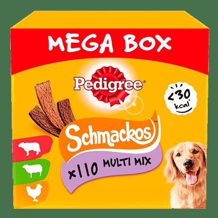 PEDIGREE® Schmackos Mega Box
