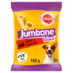 PEDIGREE® Jumbone Beef and Poultry Mini 160g
