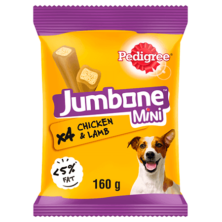 PEDIGREE® Jumbone Chicken and lamb Mini 160g