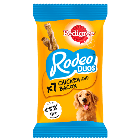 PEDIGREE® Rodeo Duos with Chicken & Bacon 7 Chews